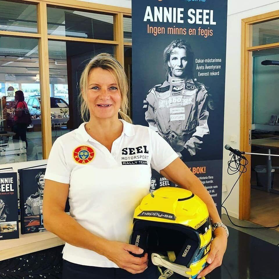 A business woman and one of the world's most qualified motor women