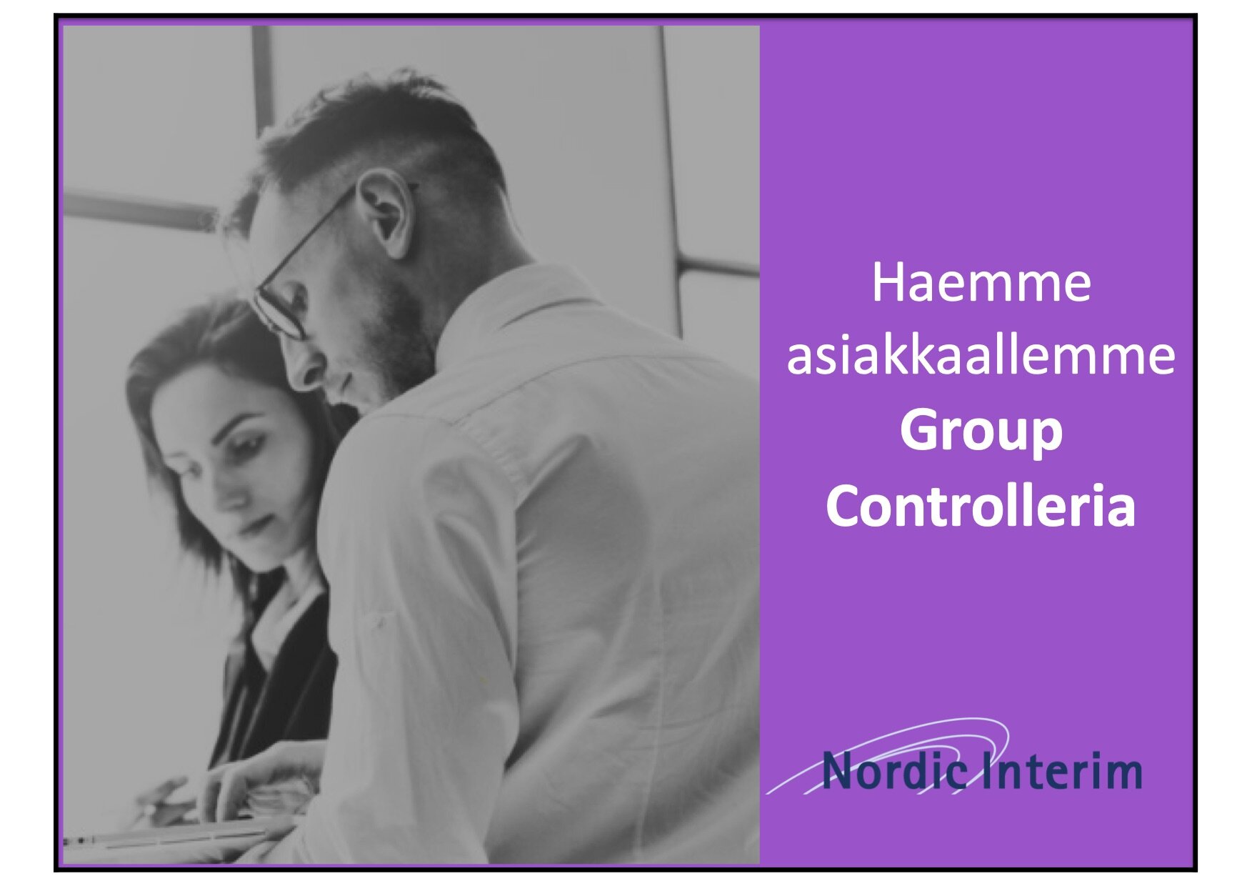 Haemme asiakkaallemme Group Controlleria