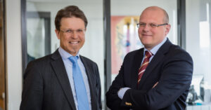 Janeric Peterson och Björn Henriksson, Nordic Interim Executive Solutions